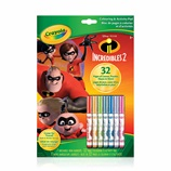 Incredibles Colouring and Activity