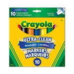 8 ct. Crayola Broad Line Washable Markers
