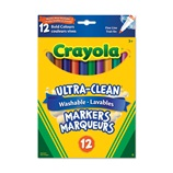 8 ct. Crayola Fine Line Washable Markers Bold Colors
