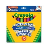 8 ct. Crayola Bold Broad Line Washable Markers