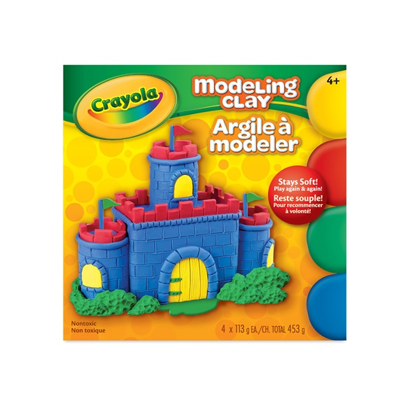 4 Ct Modeling Clay