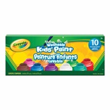 10 ct. Washable Kid's Paint, Assorted Colors