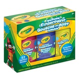 4 ct. Washable Fingerpaint, Bright Colors