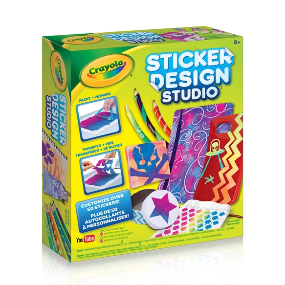 sticker design studio x 2