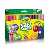 Silly Scents Wedge Tip Markers 12 ct