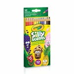 12 Silly Scents Coloured Pencils