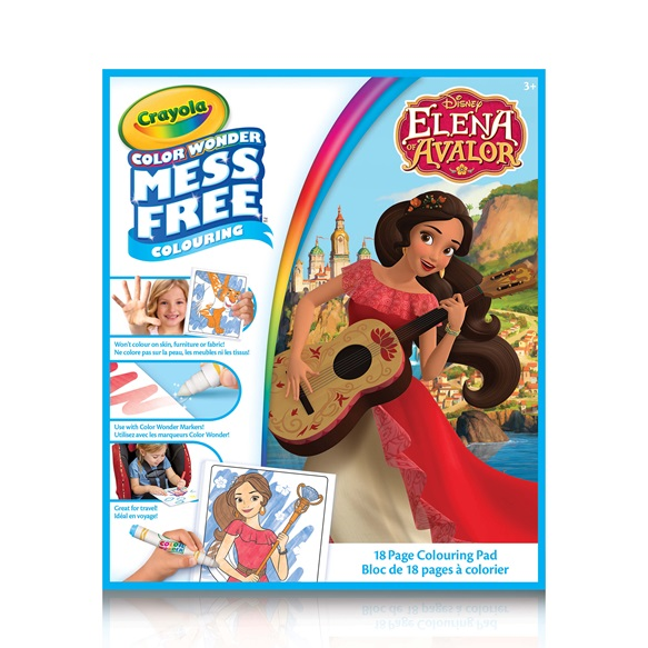 color wonder book elena of avalor