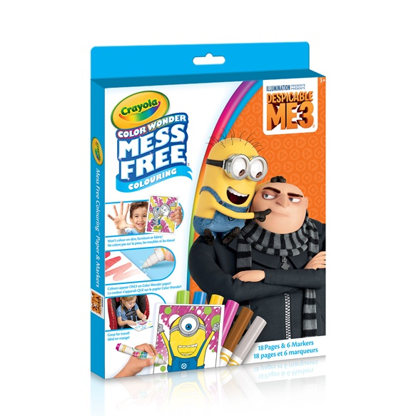 color wonder kit despicable me