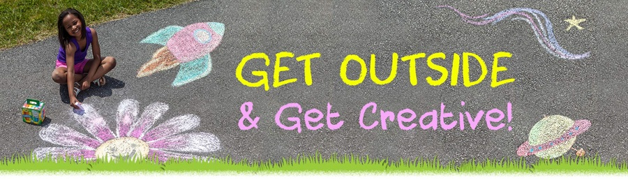 Get Outside and get Creative with Crayola