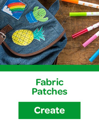 Fabric Patches craft