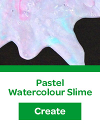 pastel watercolour slime