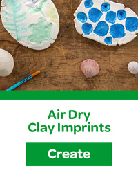 Air Dry Clay Imprints