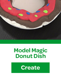 Model Magic Donut Dish