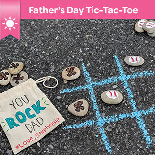 Fathers Day tic tac toe