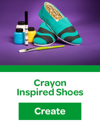 Crayon Inspired Shoes