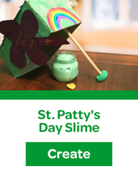 St Pattys Day Slime and Trap