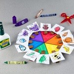 Color Match Card Game craft