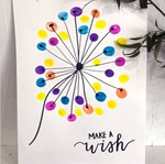 Dandelion DIY Thumbprint Art