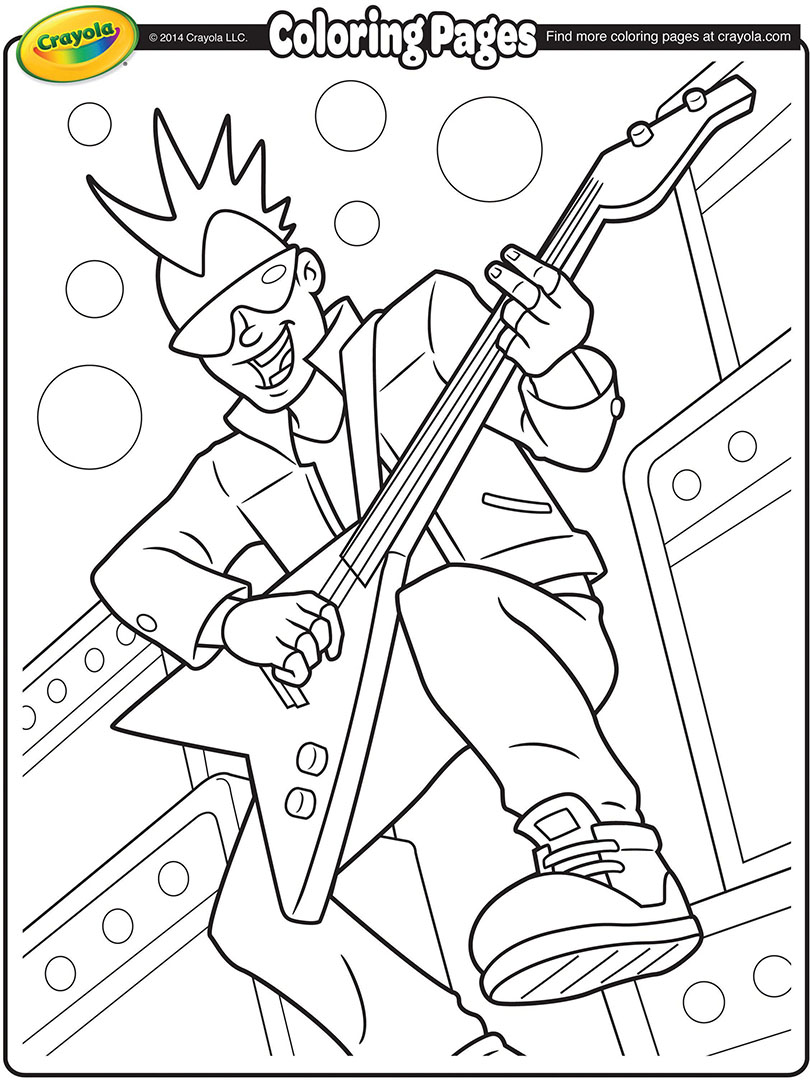 kiss band coloring pages coloring pages