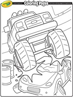 Tractor Teasure coloring page