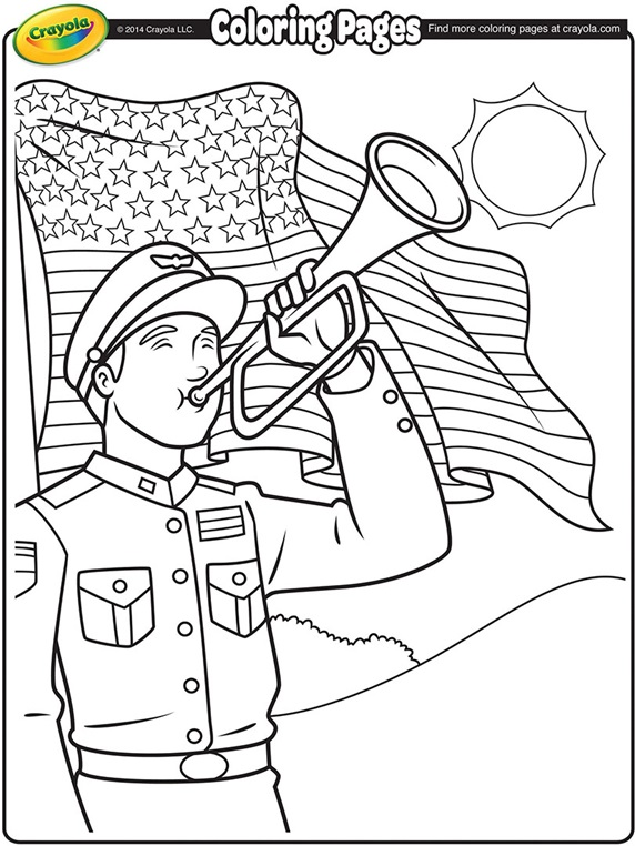 free memorial day coloring pages - photo#29
