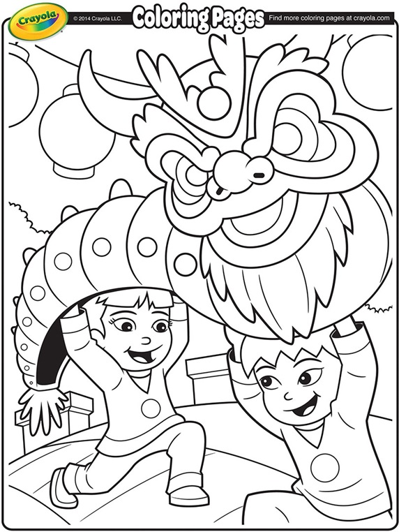 dragons coloring pages crayola - photo#9