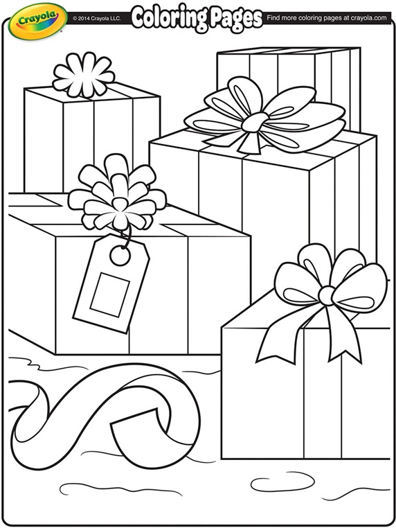 Boxing Day Crayola Ca Coloring Pages By Crayola