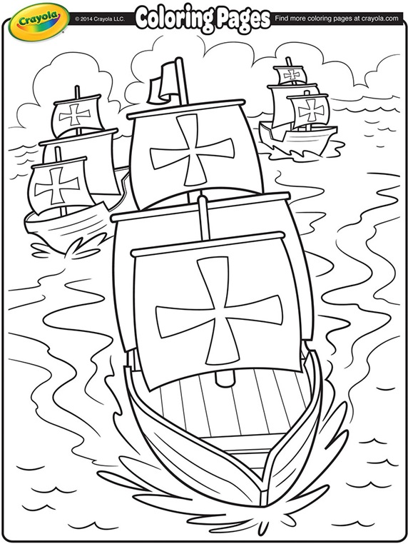Colombia coloring page