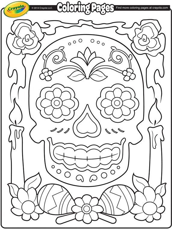 crayola christmas coloring pages - photo#17