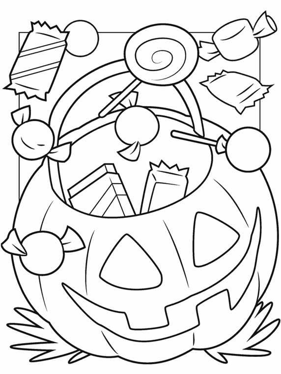 halloween online coloring pages - photo#48