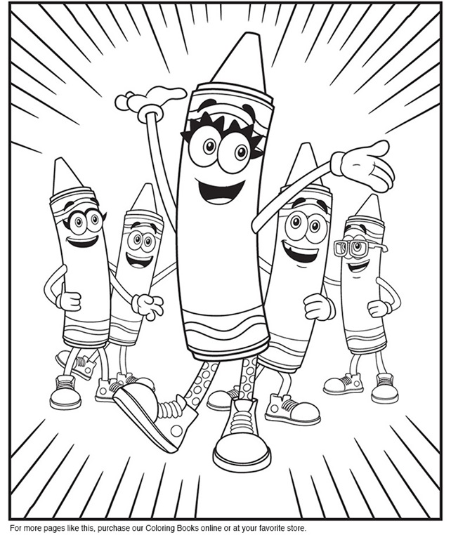 Colouring Pages Crayola Ca Crayola Coloring Pages
