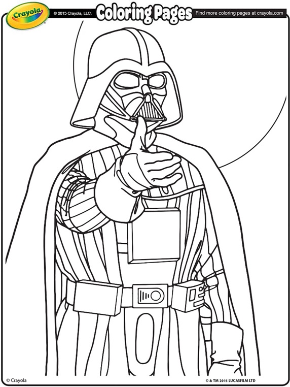 clown coloring page - Coloring Page Star Wars