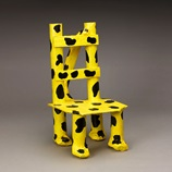 Leopard-Spot Doll Chair craft