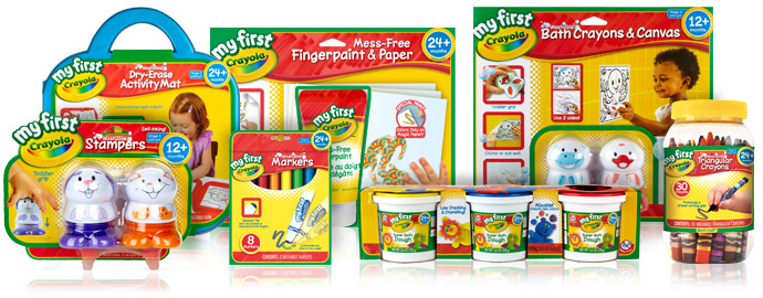 my first crayola products