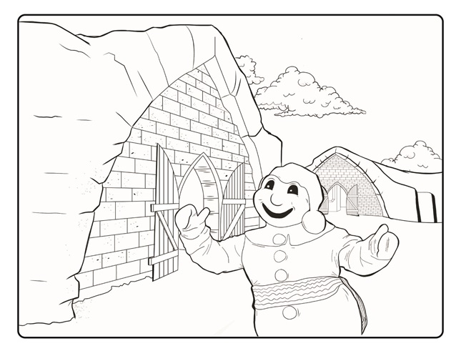 quebec city coloring pages - photo#1