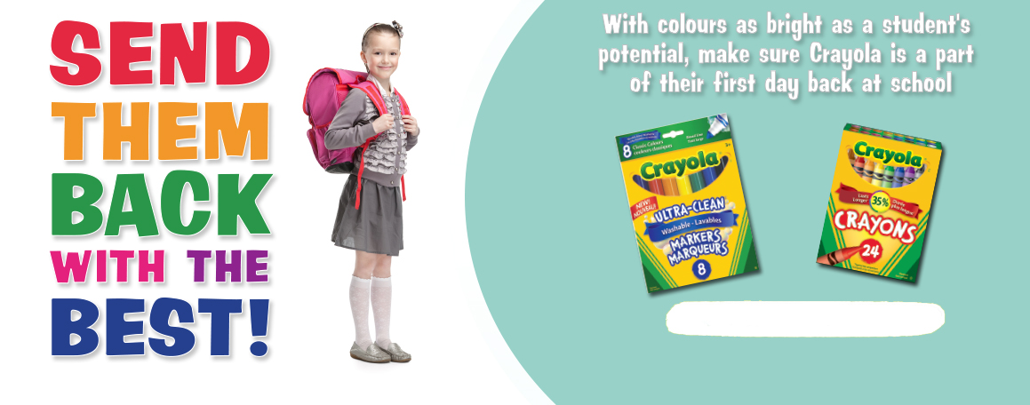 Send Them Back with the Best - Crayola