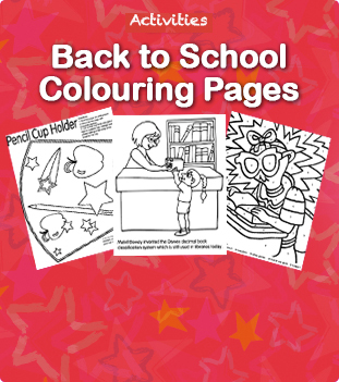 Back to School Colour Pages