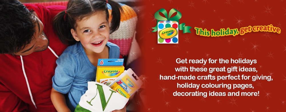 This Holiday, Get Creative with Crayola