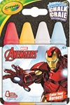 Avengers character license chalk