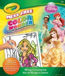 Color Wonder Princess Coloring Book & Markers