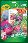 trolls colour and sticker