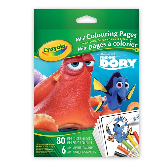Mini Colouring Pages Finding Dory  crayolaca