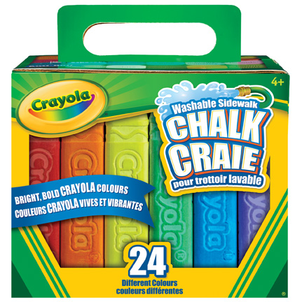 20 ct. Sidewalk Chalk Carton