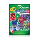 Colour & Sticker Book, PJ Masks